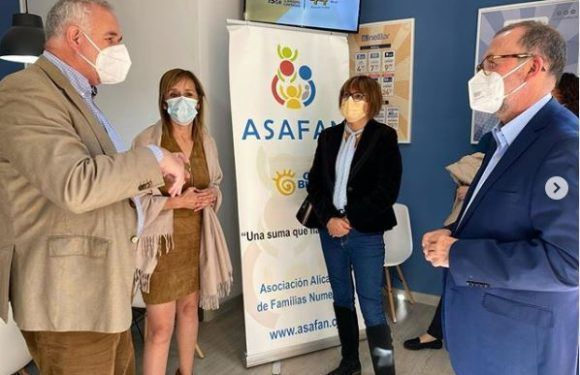 ASAFAN-ElCampello meets with the Mayor